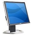 "17"" LCD TFT DELL 1704FPTt 12ms DVI-D USB"