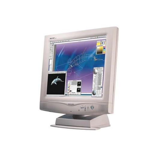 "18"" TFT LCD Monitor PHILIPS 180P1 DVI-D"
