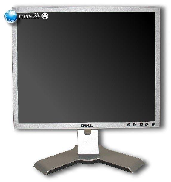 "19"" TFT LCD DELL 1908FPb 1908FP 5ms 800:1 Pivot USB-Hub DVI-D VGA Monitor"
