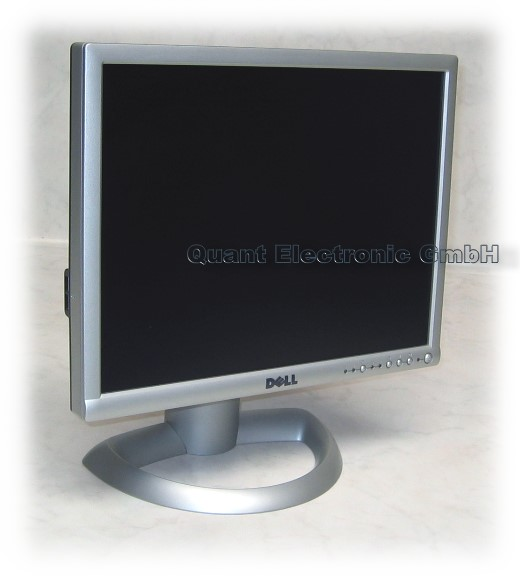 "19"" TFT LCD DELL Ultrasharp 1901FP 600:1 VGA DVI USB Pivot silber"