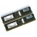 HP 4GB (2x 2GB) PC3200R RAM ECC Reg für Server 373030-051