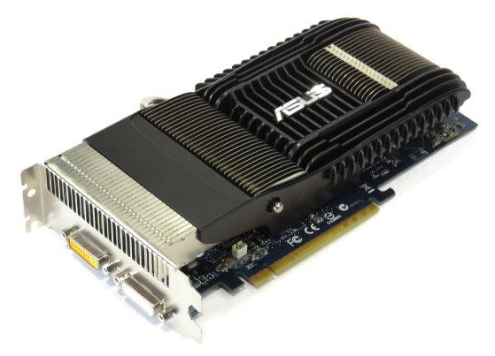 Asus EN9600GT Silent PCI Express 512MB PCIe Passiv Dual DVI Grafikkarte