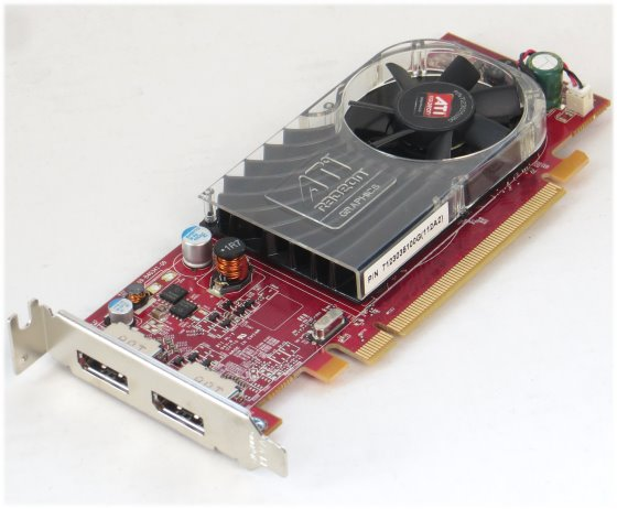 ATI Radeon HD 3470 256MB PCIe x16 2x DisplayPort Low Profile Grafikkarte LP