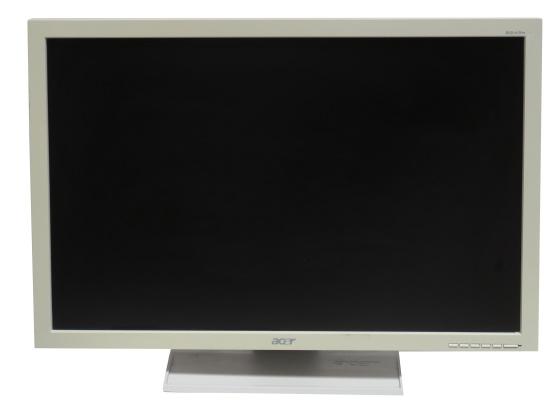 "24"" Acer B243W Monitor VGA DVI-D 1920x1200 Full HD Widescreen B-Ware vergilbt"