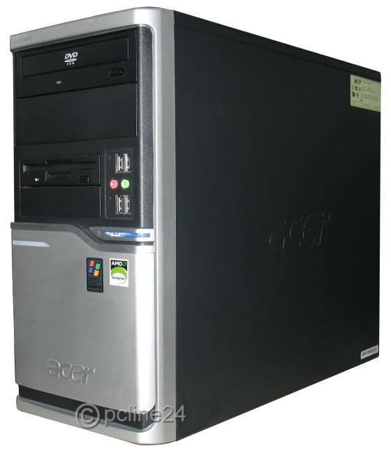 Acer-AcerPower-M6-AMD-Sempron-3000-1-8GHz-2GB-80GB-DVD-Tower-Computer-B-Ware