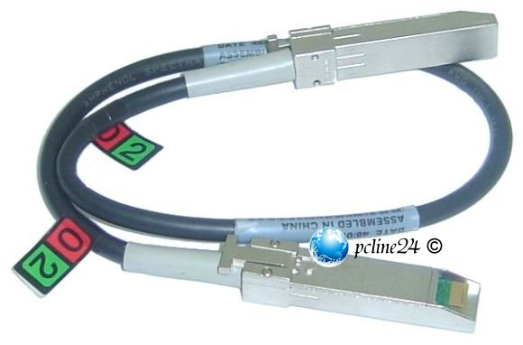 Amphenol Fibre Channel Kabel 4GB/s SFP 2,0m 17-05405-01