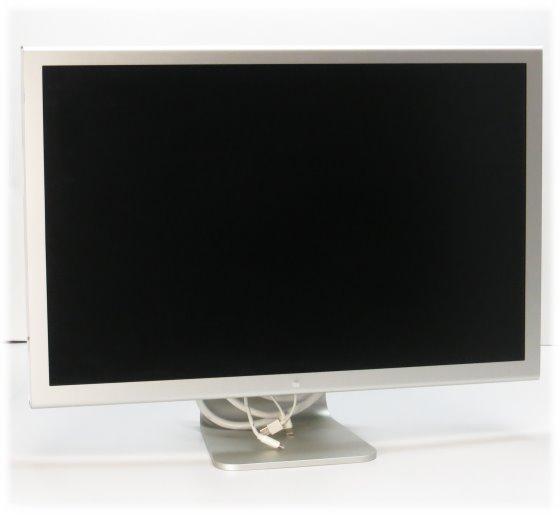 """Apple Cinema HD 30"""" Display 2560 x 1600 Monitor DVI-D mit Netzteil B-Ware"""