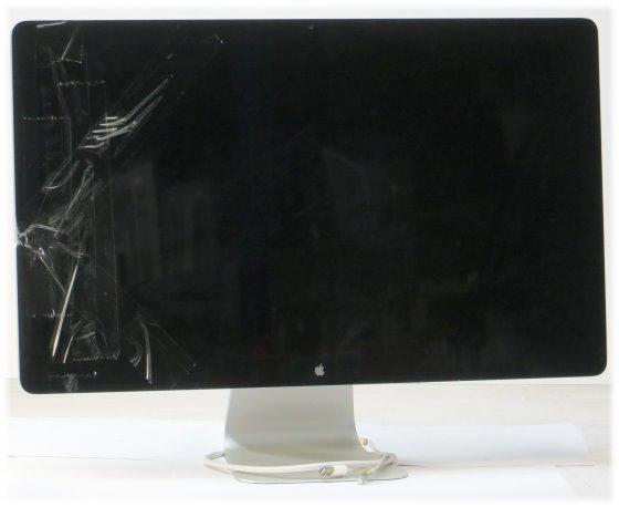 """27"""" Apple LED Cinema HD Display Webcam 2560 x 1440 Monitor defekt keine Funktion"""