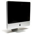 "Apple iMac 8.1 20"" A1224 Core 2 Duo E8135 @ 2,4GHz 2GB 250GB DVD±RW Early 2008"