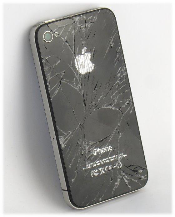Apple iPhone 4 schwarz 16GB Smartphone C- Ware (Apple ID gesperrt)
