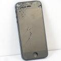 Apple iPhone 5 schwarz 16GB Smartphone C- Ware ohne Ladegerät Glasbruch