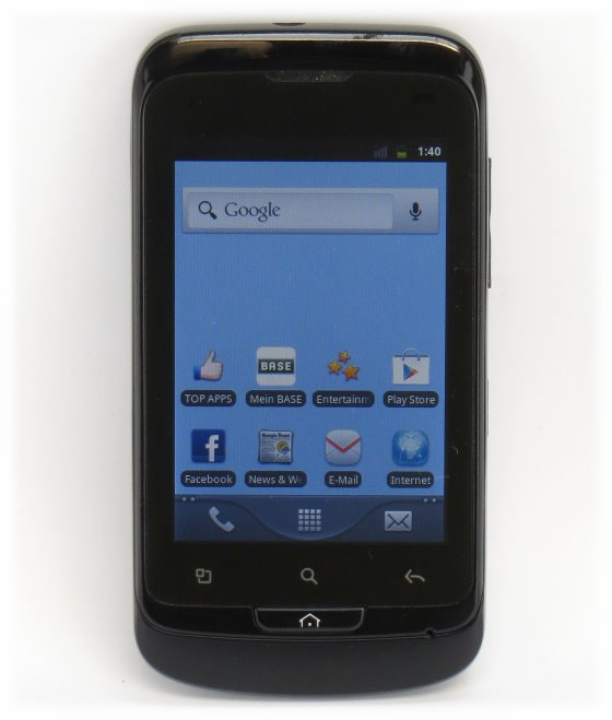 BASE Varia One Touch 918D Smartphone schwarz B-Ware