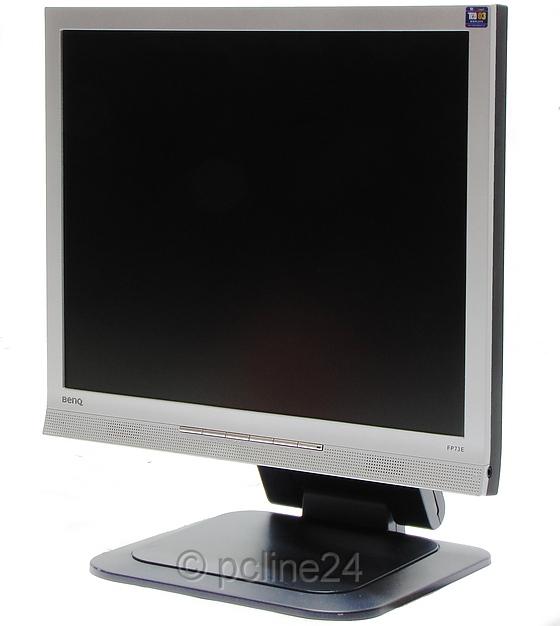 """17"""" TFT LCD Benq FP73E VGA DVI Monitor 1280 x 1024 mit Lautsprecher B-Ware"""
