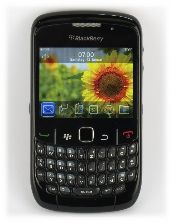 Blackberry 8520 Curve Smartphone ohne SimLock (Ladegerät fehlt) C- Ware