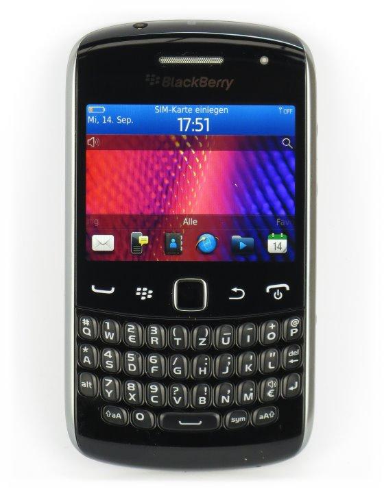 Blackberry 9360 Curve Smartphone ohne Ladegerät/Akku B-Ware