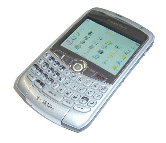 Blackberry 8310 Curve Handy Smartphone Silber defekt