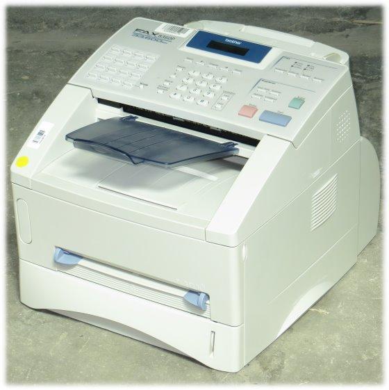 Brother FAX-8360P Faxgerät Kopierer mit ADF ohne Papierablage B- Ware
