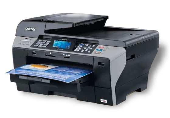 brother mfc 6490cw all in one din a3 fax adf drucker. Black Bedroom Furniture Sets. Home Design Ideas