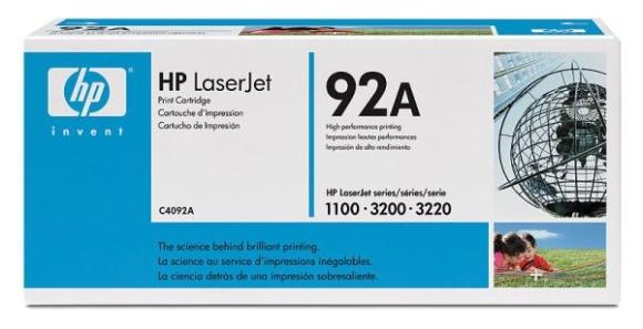 Original HP C4092A 92A Toner für LJ 1100 3200 3220 NEU
