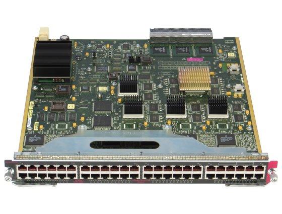 Cisco WS-X6248-RJ-45 Switch Einschub für Cisco Catalyst 6500/6000 48x RJ-45 10/100 Mbit/s