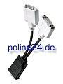 Diverse DMS-59 to 2xDVI Y-Kabel Adapterkabel