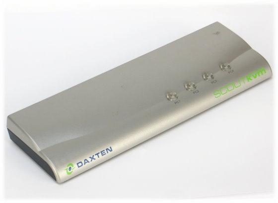 Daxten SCOUTkvm Switch 1014-04K KVM 4x Port DB-15 VGA PS/2