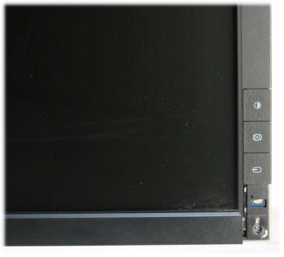 "19"" TFT LCD Dell 1909Wb 1440 x 900 Pivot Monitor ohne Tasten/Knöpfe"