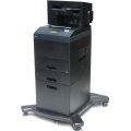 Dell 5350dn 48 ppm 128MB Duplex LAN Laserdrucker 2.PF 550 + 2000 Blatt (600 Seiten)