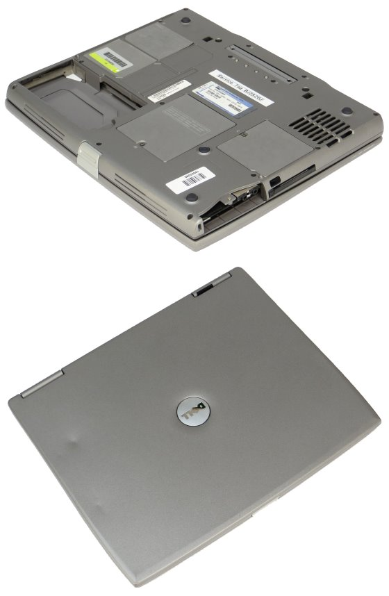 Dell Latitude D600 Pentium M 1,6GHz 512MB Combo ohne HDD/Rahmen ohne Akku