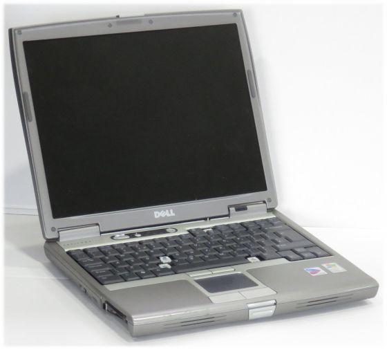 Dell Latitude D610 PM 1,6GHz 512MB (HDD/Rahmen, mehrere Tasten fehlen/Akku/Laufwerk defekt) B-Ware
