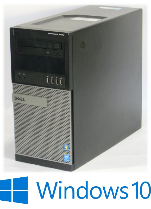 Dell Optiplex 9020 Quad Core i5 4670 @ 3,4GHz 8GB 128GB SSD DVD±RW Win 10 Pro x64