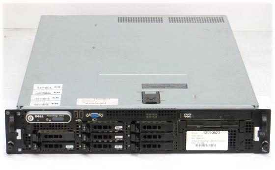 Dell PowerEdge 2950 III Xeon Quad Core X5450 @ 3GHz 8GB 4x 72GB PERC 6/i 2x 750W