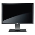 """24"""" TFT LCD Dell U2410f IPS FullHD Pivot VGA 2x DVI HDMI Composite UltraSharp Monitor"""