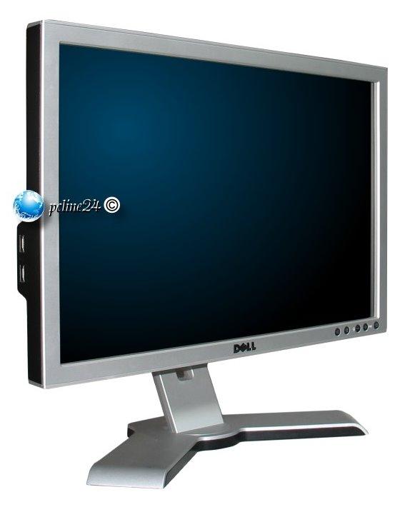 """20"""" TFT Dell 2009Wt 5ms 2000:1 USB Pivot DVI VGA silber"""