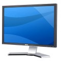 "22"" TFT Dell UltraSharp 2208WFP 2208WFPt 16:10 5ms 1000:1 Pivot USB DVI Monitor"