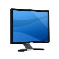 "19"" LCD TFT Dell E198FP 5ms VGA 800:1 schwarz-silber"