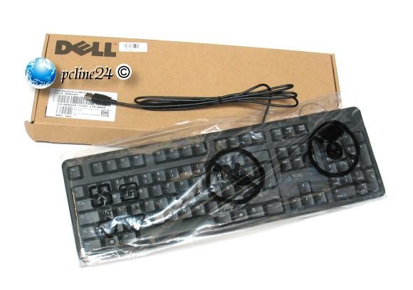 Dell KB212-B Tastatur deutsch USB 2.0 schwarz 6RDXP NEU