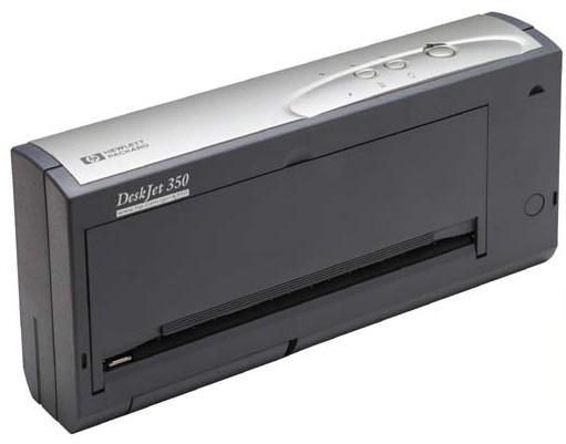 hp deskjet 350 mobiler drucker f r laptop notebook tintenstrahldrucker 10001749. Black Bedroom Furniture Sets. Home Design Ideas