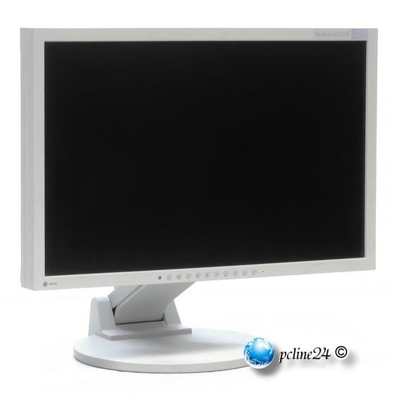 """22"""" TFT LCD EIZO FlexScan S2231W 1680 x 1050 Pivot VGA DVI Monitor"""