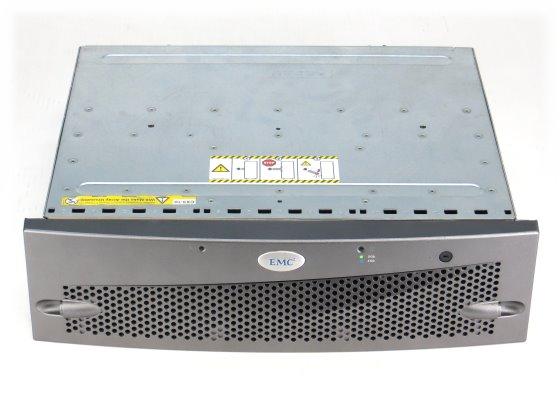 EMC² KTN-STL4 Data Storage 6x 146GB + 9x 72GB FC im 19 Zoll Rack 2x 100-562-126