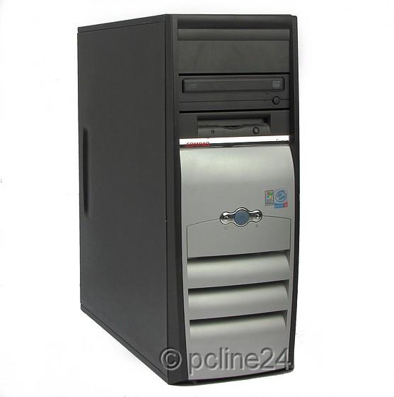 Compaq EVO D51C Intel Celeron 2GHz 512MB DVD ohne FP