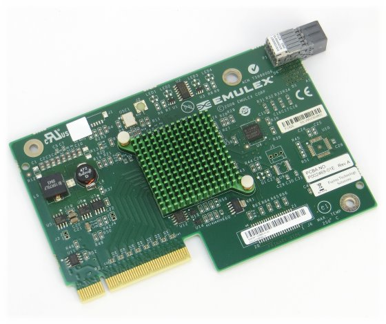 Emulex FC 8Gbps Dual Port FC82E PCIe x4 Netzwerkkarte für Blade Server A3C40098390