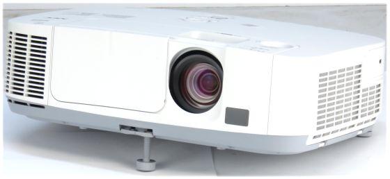 Nec P350W LCD Beamer Projektor 3500ANSI/LU 2000:1 HD HDMI LAN + Fernbedienung