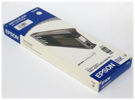 EPSON T5448 Tinten Original Schwarz für Stylus Pro 4000 4400 4800 9600