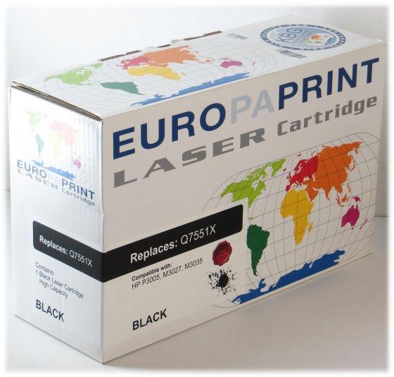 Toner Q7551X schwarz NEU kompatibel für Drucker HP LaserJet P3005 M3035mfp M3027mfp