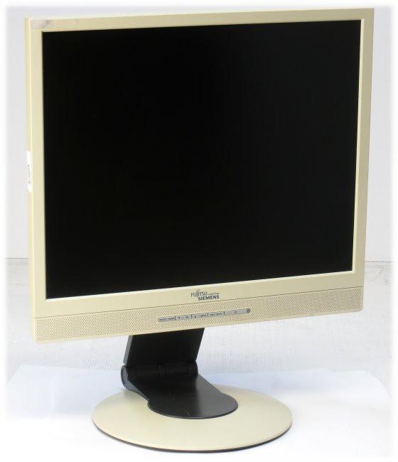 """19"""" TFT LCD Fujitsu Siemens SCENICVIEW P19-2 1280 x 1024 Monitor mit Lautsprecher B-Ware"""