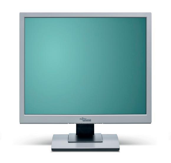 """19"""" LCD TFT Fujitsu Siemens SCENICVIEW B19-5 1000:1 5ms Pivot VGA DVI vergilbt"""
