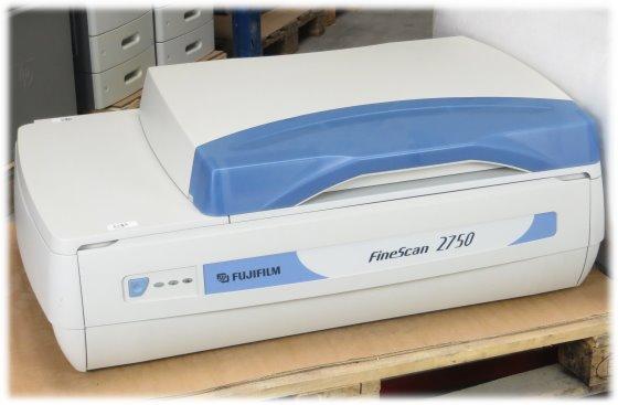 Fujifilm FineScan 2750 Flachbett-Scanner DIN A3 7500dpi mit Durchlichteinheit
