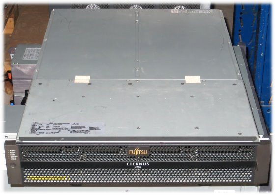 Fujitsu ETERNUS DX60 Data Storage SAS 2x 4G2P Controller 4Gb CA07145-C621 2x PSU