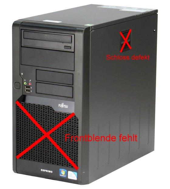 Fujitsu Esprimo P5731 ESTAR5 Pentium Dual Core E5700 @ 3GHz 4GB 250GB Computer B- Ware